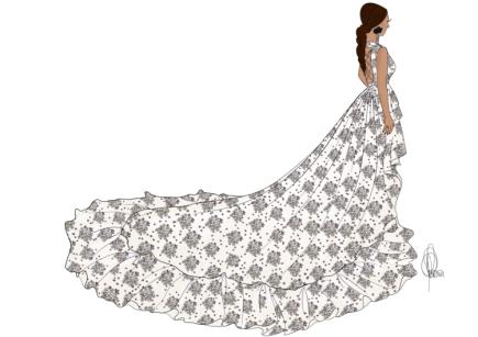 Alicia Rueda de Dress by Yes 2