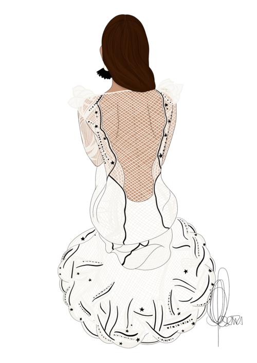 Alicia Rueda de Dress by Yes 4