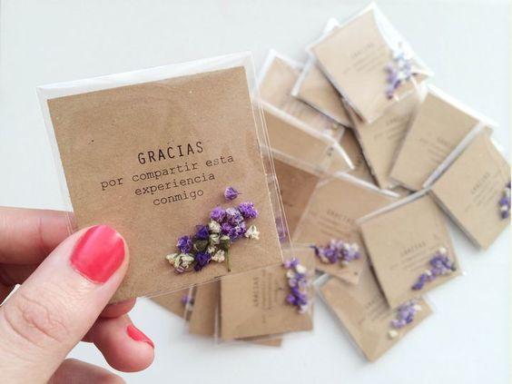 tarjetas de agradecimiento manuales