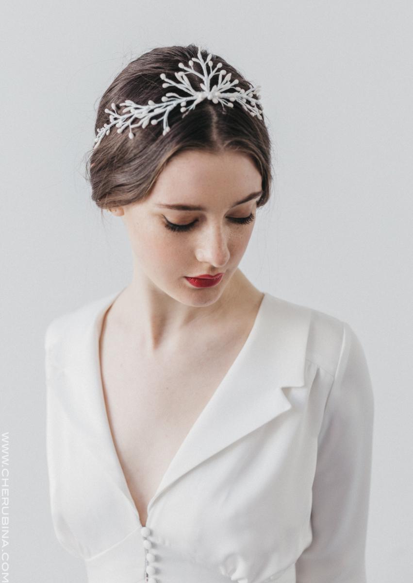 36b34aba1d Tocados de novia de Cherubina – M   N